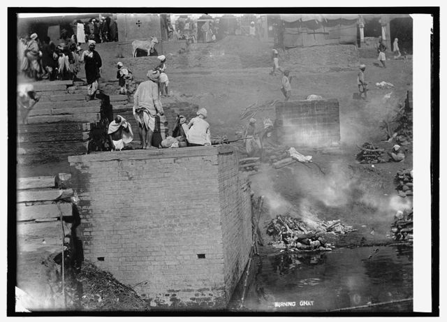India, Hindoo [i.e., Hindu] burning ghat