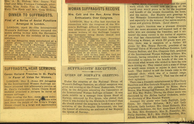 International Woman Suffrage Alliance Meets in London