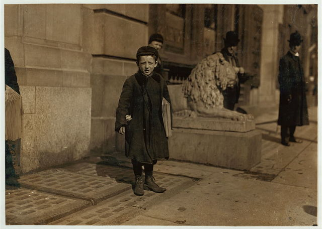 Jossph Harris a 9 year old newsboy in Hartford, Conn. Been selling 1 1/2 years.  Location: Hartford, Connecticut.