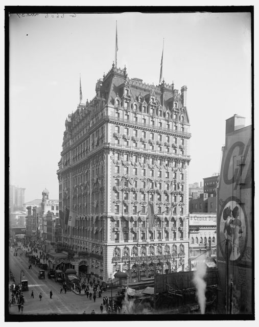 [Knickerbocker Hotel, New York, N.Y.]