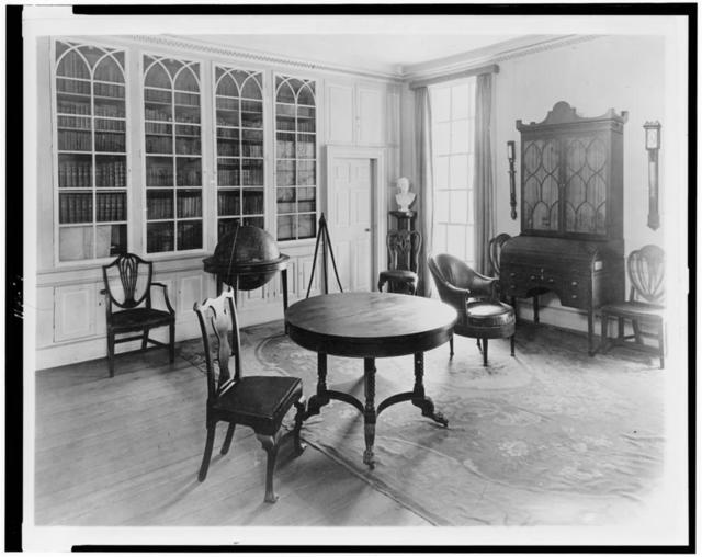 [Library at Mount Vernon]