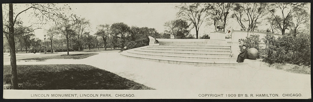 Lincoln Monument, Lincoln Park, Chicago
