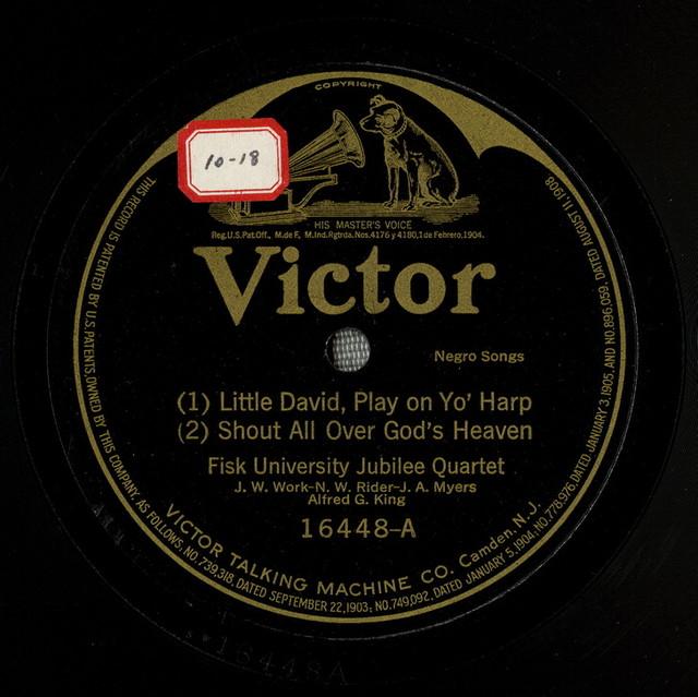 Little David, play on yo' Little David, play on yo harp