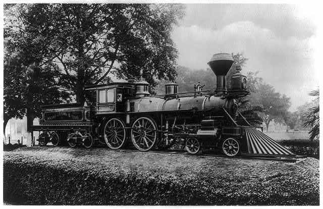 "Locomotive ""Sabine"" of Morgan's Louisiana & Texas line"
