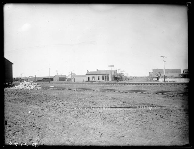 Main Street, Amherst, Nebraska.