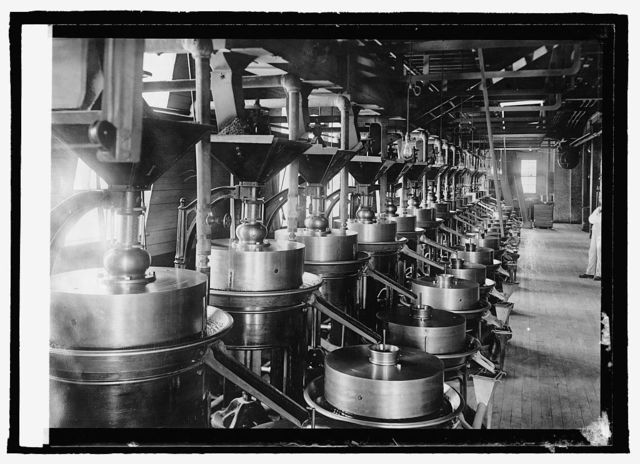 Manufacture of chocolate, Dorchester Mills
