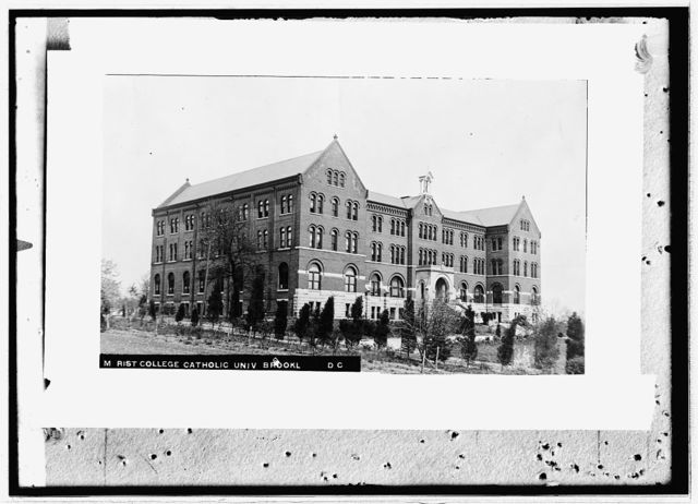 Marist College, Catholic Univ., Brookl[and], D.C.