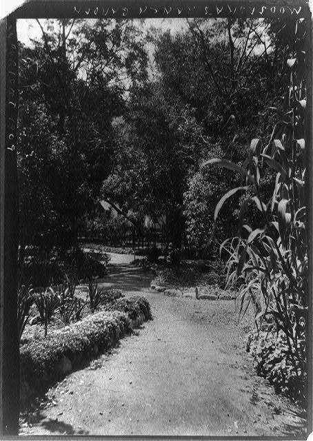 Modjeska's ranch garden