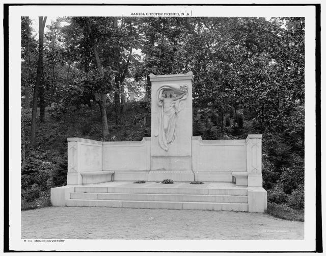 Mourning Victory, [Melvin Memorial, Sleepy Hollow Cemetery, Concord, Mass.]