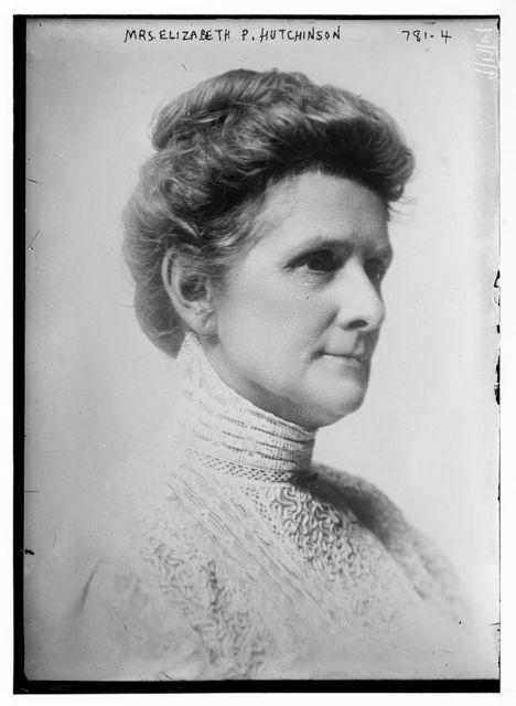 Mrs. Elizabeth P. Hutchinson