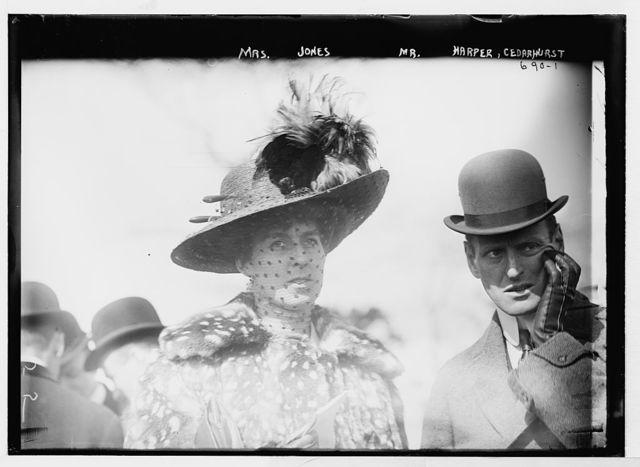 Mrs. Jones and Mr. Harper at Cedarhurst Cup Horse Show