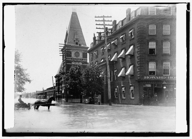 Pa. Ave. in Johnston [i.e Johnstown?] Flood. [Washington, D.C.]