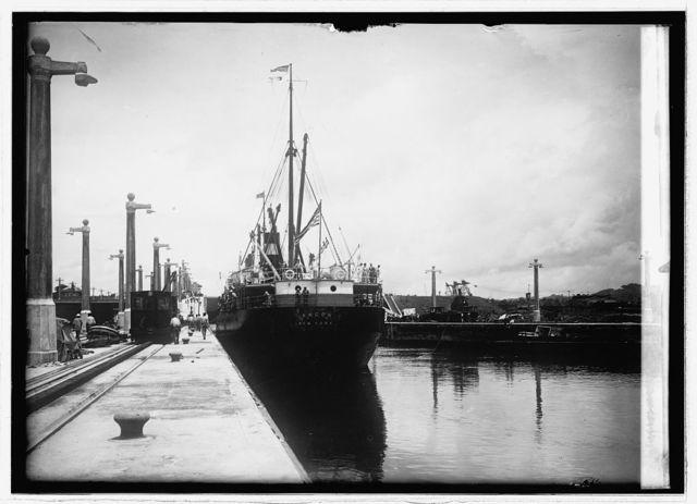 Panama Canal. Gatun Lock