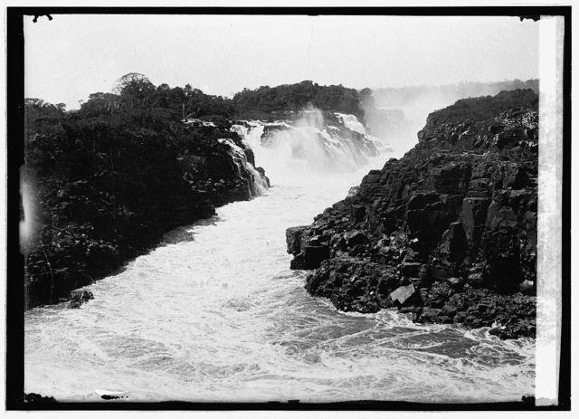 Paraguay. La Guyia[?] Falls