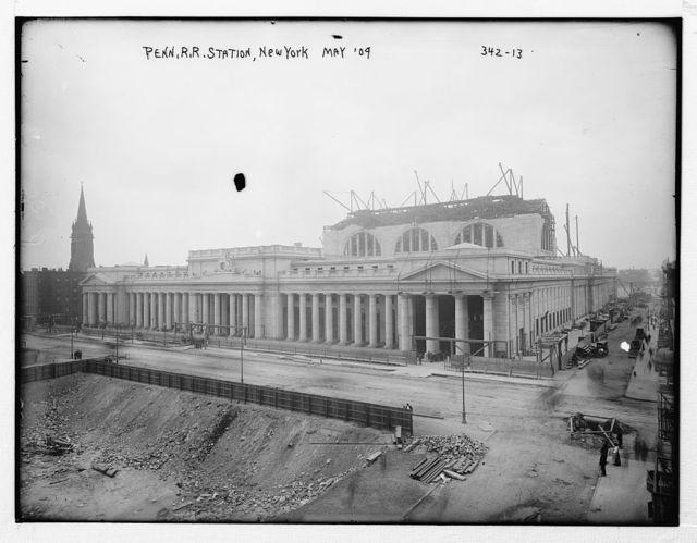 Penn. R.R. Station, N.Y., 1909