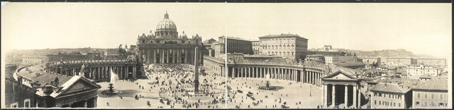 Plaza, St. Peters, Rome