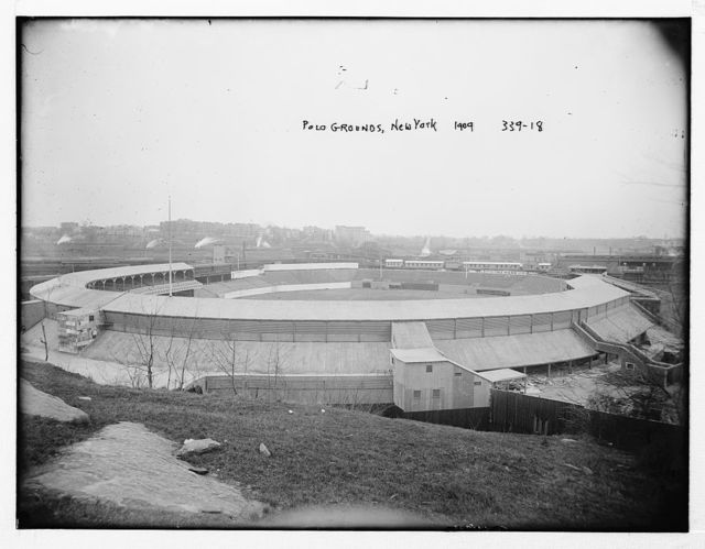 [Polo Grounds, view from Coogans Bluff (baseball)]