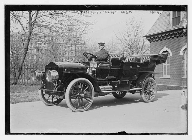 """President's """"White"""" (automobile) - 40hp, Washington, D.C."""