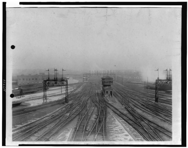 [Railroad yard at Union Station, Washington, D.C.]