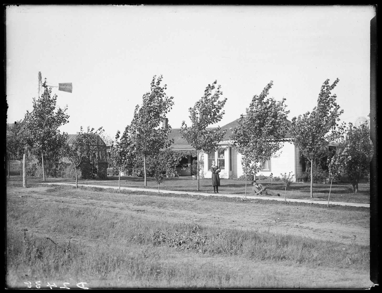 Residence of Dr. Norcross, Miller, Buffalo County, Nebraska.