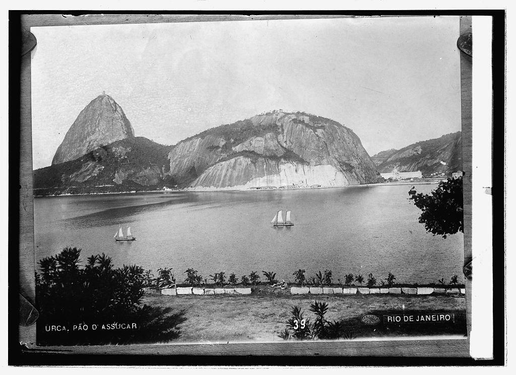 Rio de Janeiro, Sugar Loaf Mountain and a corner of the bay