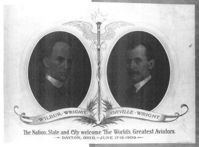 [Second page of The Nation, State and City Welcome the World's Greatest Aviators (Wilbur and Orville Wright), promotional material, 17-18 June 1909]