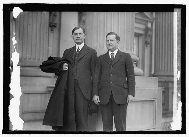 Sen. Wm. Kirby of Ark. & Sen. Morris Sheppard [of Tex.]