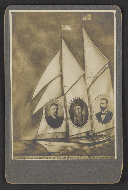 Souvenir of the Christening of the German Emperors Yacht Meteor / Paul Armstrong.