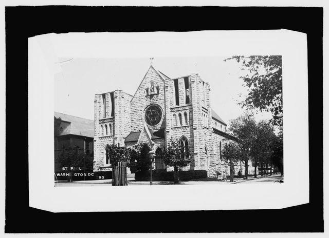 St. Paul's Catholic Church, Wash., D.C.