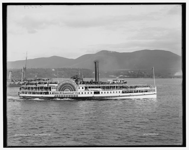 Steamer Cetus, Iron Steamboat Co.