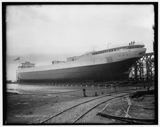 Stern quarter, S.S. Conemaugh