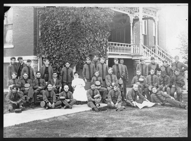 Students at the Industrial School for Boys, Kearney, Nebraska