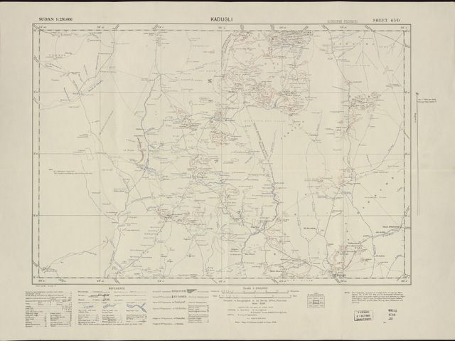Sudan 1:250,000 /