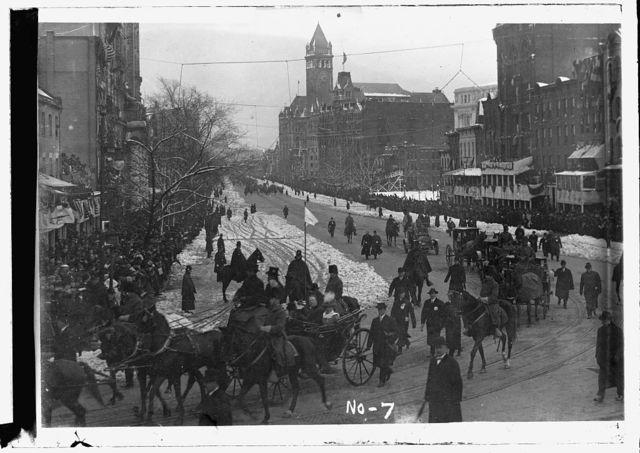 Taft Inauguration, [Mar. 4, 1909]