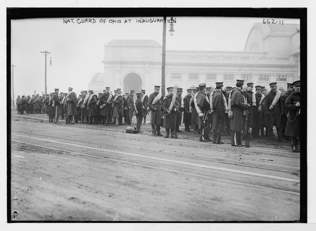 Taft Inauguration, National Guard of Ohio, Washington, D.C