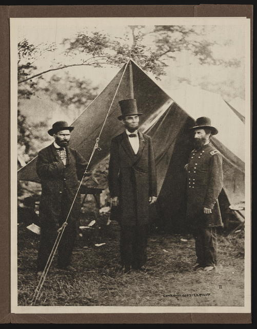 The Abraham Lincoln portfolio of photogravures from the famous McClure collection.