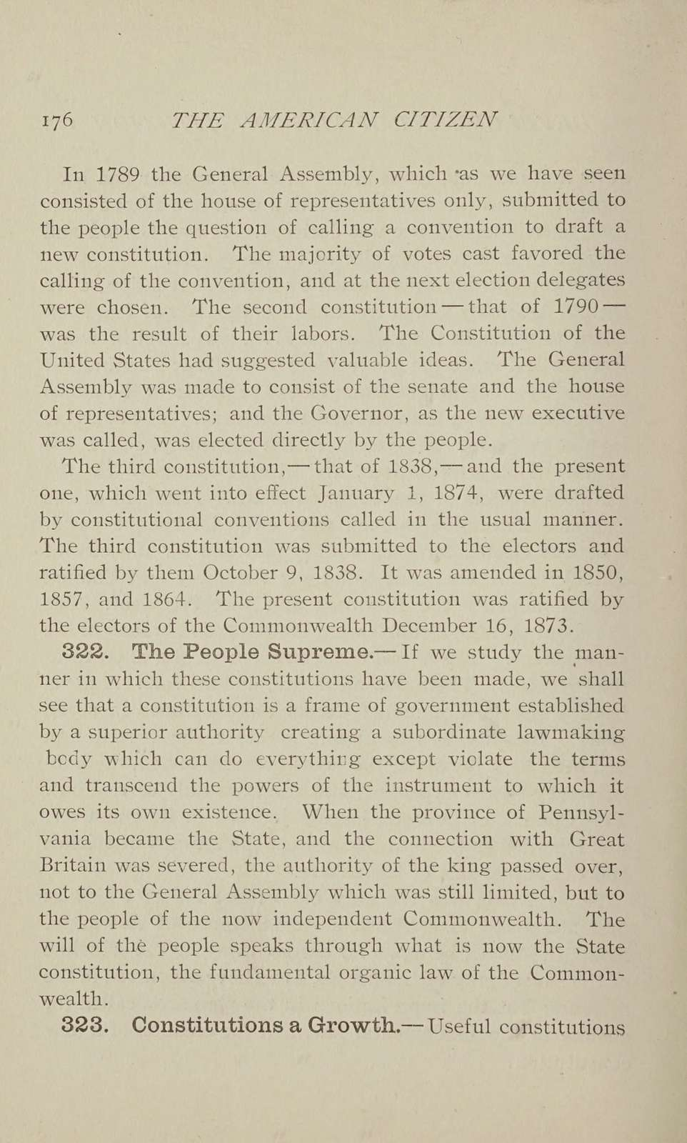 The American citizen in the commonwealth of Pennsylvania;