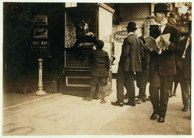 The Beginning of the Theatre Habit.  Location: Boston, Massachusetts.