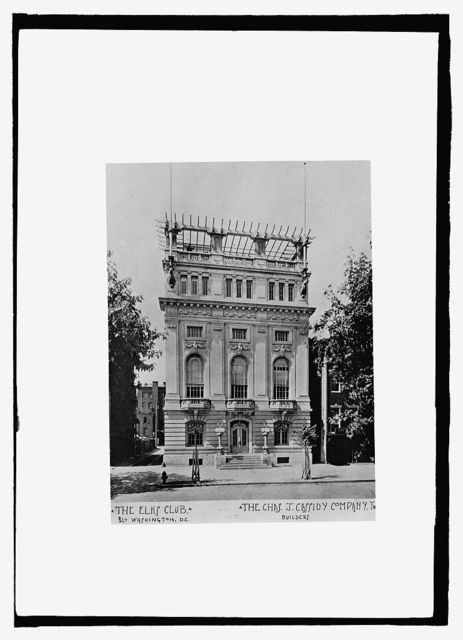 The Elks Club, Washington, D.C.