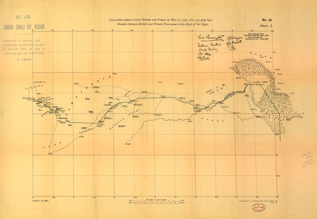 The map of Africa by treaty /