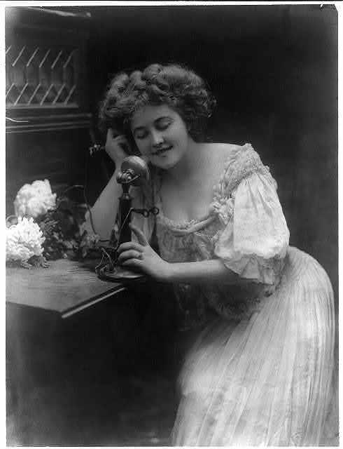 The telephone girl