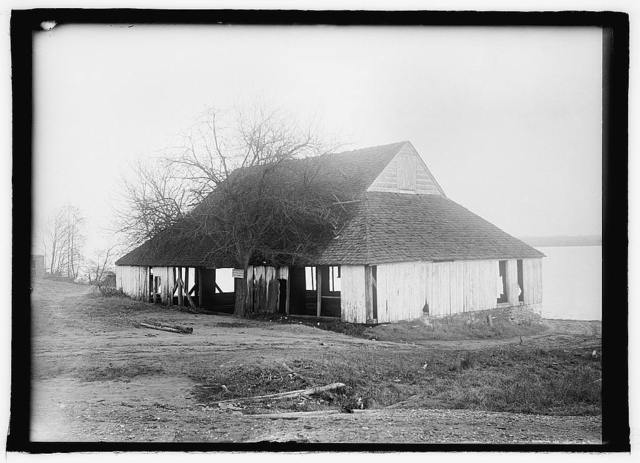 Tobacco warehouse at Belvoir, (Estate of Lord Fairfax) Va.