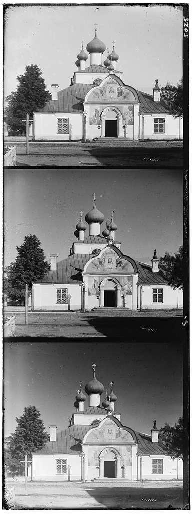 Tserkov' Spasa nerukotvornogo obraza Klimentovskogo prikhoda v Novoi Ladoge Sankt-Peterburgskoi gubernii