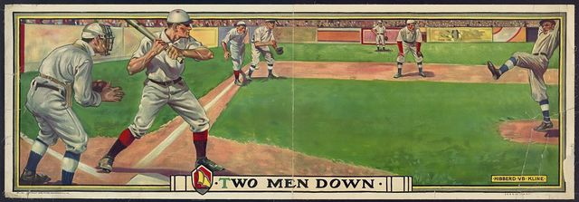 Two men down / C. G & S. Inc. Litho., N.Y.