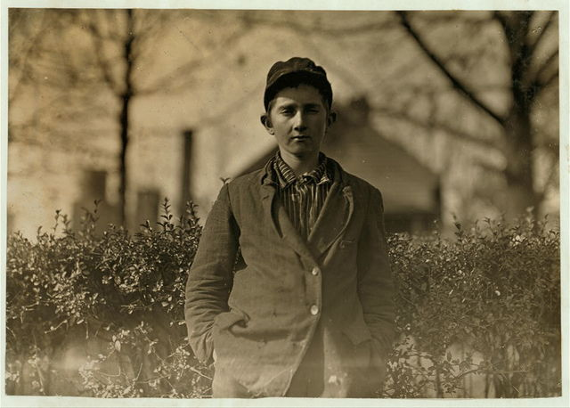 Type of adolescent found in Atherton Mill, Charlotte, N.C. (and in many other mills in the South). Will Freeman. Been in mill work 4 years.  Location: Charlotte, North Carolina.