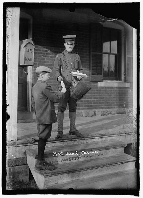 U.S. Army post mail carriers