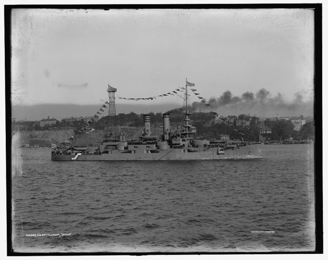 U.S. battleship Idaho