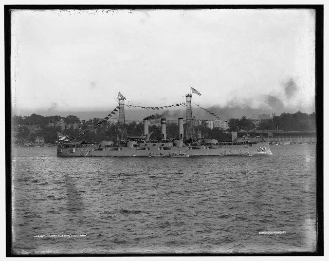 U.S. battleship Louisiana
