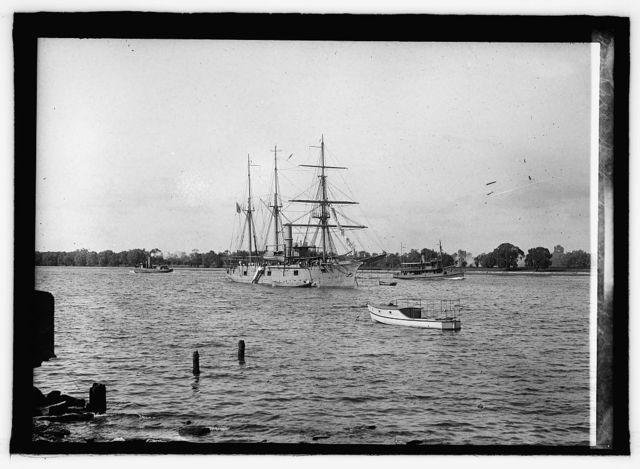 U.S. Ship Nantucket, training ship
