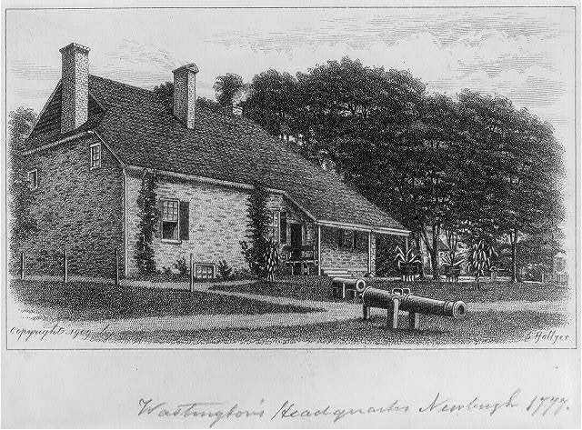 Washington's headquarters, Newburgh [N.Y.] 1777